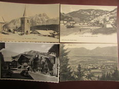 Nice selection of 126 postcards of Switzerland 1900/1920