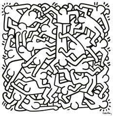 Keith Haring (after) - Humanity