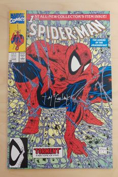 Spider-Man #1 - signed by Todd McFarlane - (1990)