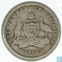 Australia 1 florin 1914 (no mint mark)
