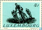 Postage Stamps - Luxembourg - Cycling