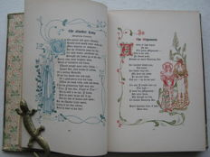 Walter Crane; The Old Garden and other verses by Margaret Deland. Decorated by Walter Crane - 1893