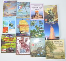 World – Probe sets 2004/2005 from various countries (12 different sets)