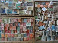 World - Batch of bundles from classic to modern with over 250,000 stamps in total