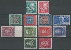 Federal Republic of Germany 1949/1950 - Selection - Michel 111/122