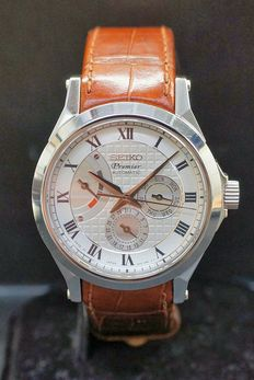 Seiko Premier Automatic, Men's watch, Ref no.6R20-00A0.