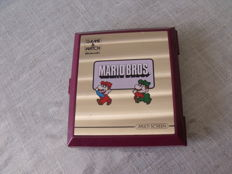 Game and watch Mario Bros 1983