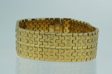 Vintage double bracelet, wide version, new condition.