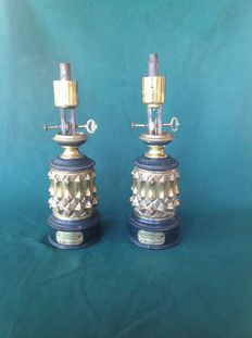 Two patented  lamps