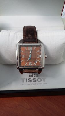 Tissot Quadrato men's wristwatch – 2007