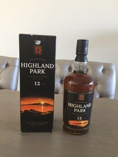 Highland Park - 12 years old (Old Label)
