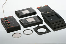 Various items for the hasselblad and the technical camera.