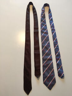 Louis Vuitton & Burberry – two (2) ties.