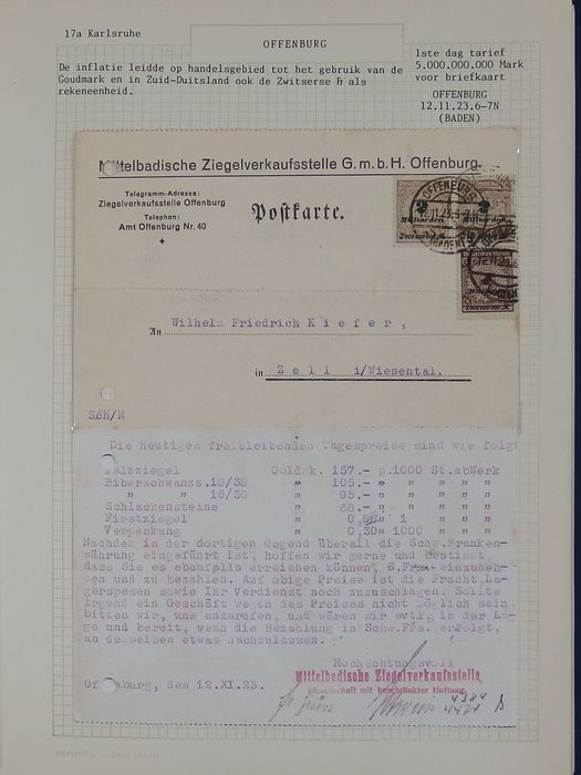 German Reich 1880/1950 – Topical collection train cancellations on ...
