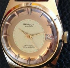 Revlon – men's wristwatch – year:  1960