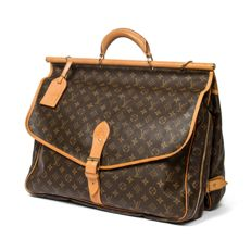 Louis Vuitton – Sac Chasse Monogram w/ shoulder strap and LV name tag