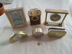 6 collection watches, some in bronze