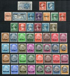 France 1900 to 1930 – Overprint stamps – Yvert no.169, Pre-cancelled, Training stamps, Alsace-Lorraine.