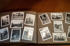 3 photo albums with family photos