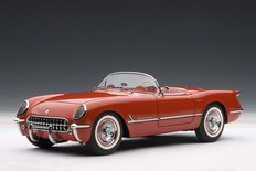 AUTOart - Scale 1/18 - Chevrolet Corvette 1954 - Colour Red