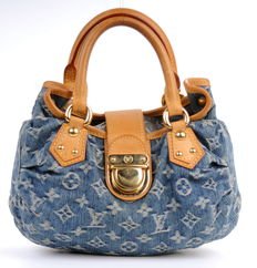 Louis Vuitton - Denim monogram Pleaty bag