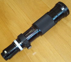 NIKON Zoom-NIKKOR Auto 200-600mm f/9.5 Lens - Vintage from 1973.