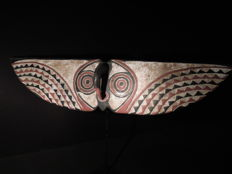 Large butterfly mask - BWA, MOSSI - Burkina Faso