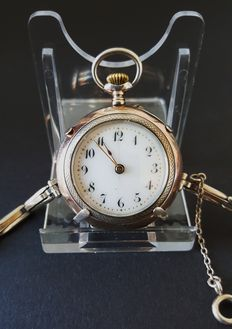 Pocket watch - Can also be worn as wristwatch - First half 20th century