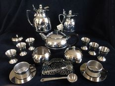 18 piece lot Stainless steel (chrome plated) i.a.  Alfi and Sola..