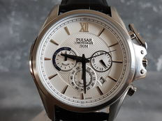 Pulsar chronograph – men's wristwatch - unworn, 2017.