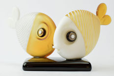 De Mio Giuliano - Pair of collectible fish