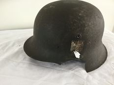 Duitse Helm M-42 WO2.  Decal. Wehrmacht
