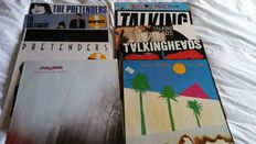 10 original LP Albums by Talking Heads (4), Pretenders (4) and The Cure (2)