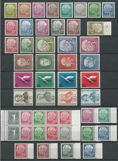 Federal Republic of Germany 1949/1950 – Selection incl. Heuss