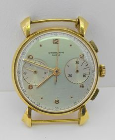 CHOROGRAPHE SUISSE – Gentlemen's wristwatch – Middle of the 20th century – Mint condition