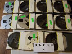 Lot of 33 Audiotapes