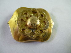 Gold brooch from the 1930s