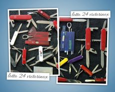 Lot of 24 Victorinox from 1970