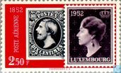 Timbres-poste - Luxembourg - Roi Guillaume III et Grande-duchesse Charlotte
