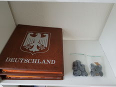 Germany - coins 1874 - 1984, approx. 180 pieces.