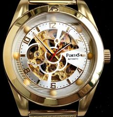 "PortaS ""Annaberg"" Skeleton – Wristwatch – New design, 2017"