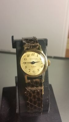Sekonda gold plated wristwatch – very rare – 1980s