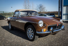 MG - B Roadster Brown - 1979
