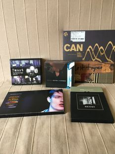 CAN, Joy Division, Bauhaus, This Heat, and Faust boxsets