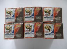 Panini - football - World Cup South Africa 2010 - 6 boxes