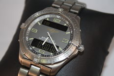 Titanium Breitling Aerospace, ref. E65062 - Men's wristwatch, 1999