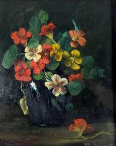 Aenderly Möller (1863 - 1936) - Still life