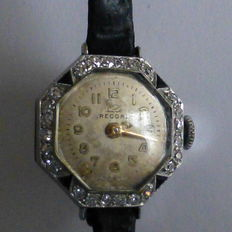 Ladies Diamond & Platinum watch