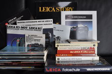 Leica, circa1970s-1990s, Leica brochures, books and magazines, most in German