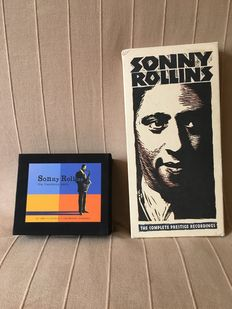 Sonny Rollins, Charlie MIngus and Sarah Vaughan boxsets